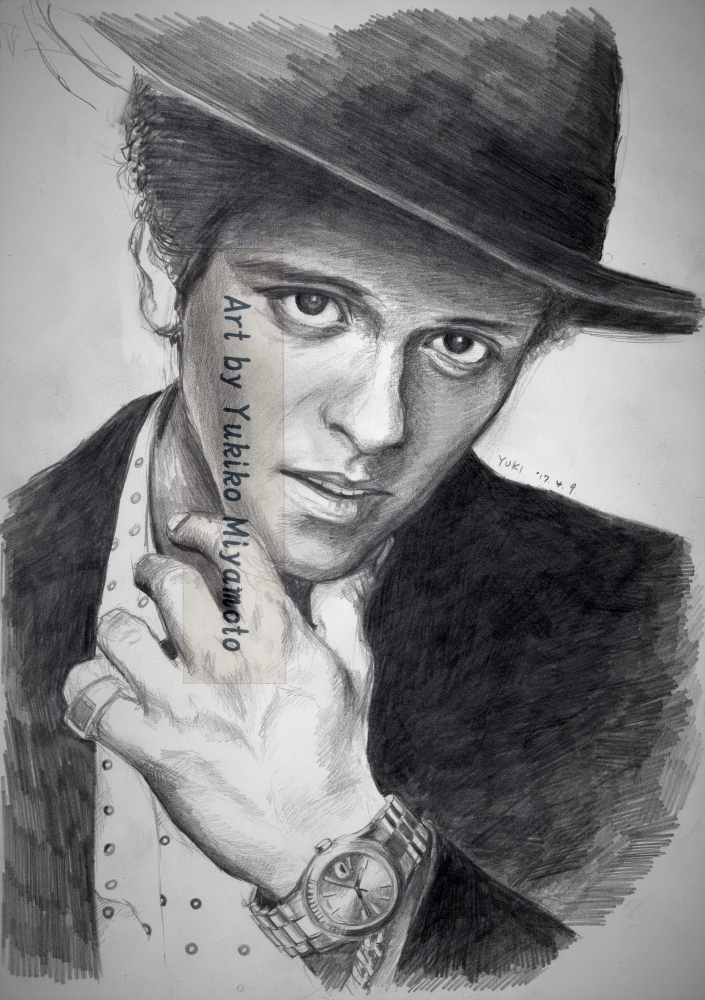 Bruno Mars by Yuki